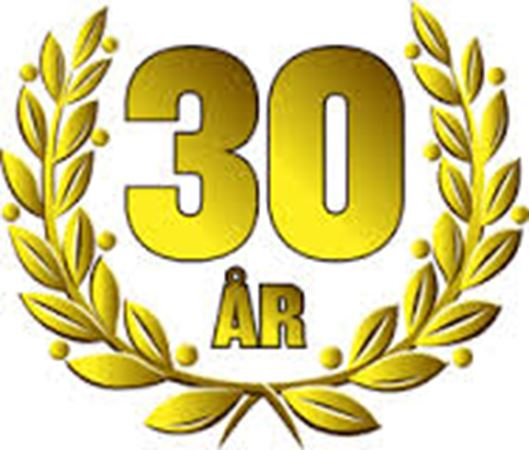 30-års-jubileum